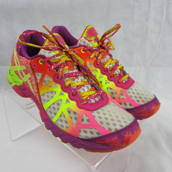 Asics Gel Noosa Tri 9 Neon Sneakers Shoes Size 9.5